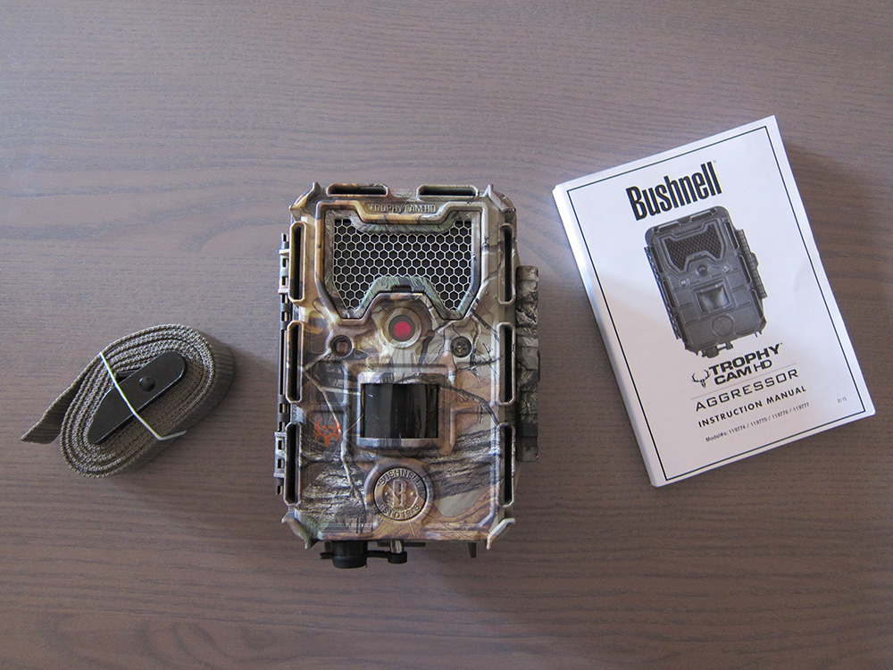 Bushnell trophy cam HD aggressor
